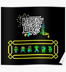 Gaming [ZX Spectrum] - Knight Lore Poster