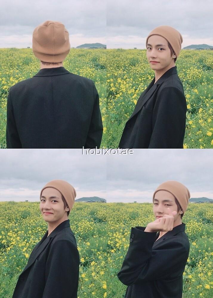 BTS V Taehyung Poster T-Shirt Hoodie Sticker Notebook Bangtan Kim Taehyung 뷔 김태형 방탄소년단 by hobixotae