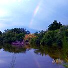 Rainbow Reflection by R&PChristianDesign &Photography