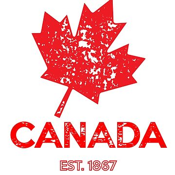 Happy Canada Day D'eh 1867 Shirts BY WearYourPassion by domraf