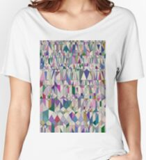 Architecture in Pink Women's Relaxed Fit T-Shirt