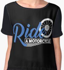 Motorcycle Bike Chiffon Top