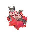 Cat charmante by Andreea Dumez