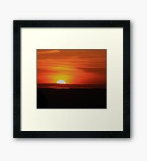 Minute by Minute... Framed Print