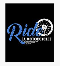 Motorcycle Bike Photographic Print