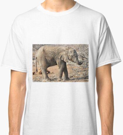 Hungry Baby Elephant -  THE AFRICAN ELEPHANT – Loxodonta africana Classic T-Shirt