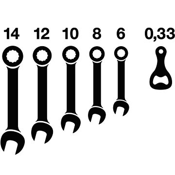 Wrench / wrenches beer bottle opener tools by LaundryFactory