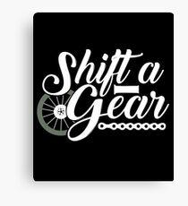 Motorcycle Bike Canvas Print