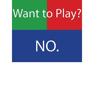 Want to Play? No. No Crossplay Gaming by wrestletoys