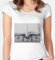 RAF Tornado GR-4 head-on Women's Fitted Scoop T-Shirt
