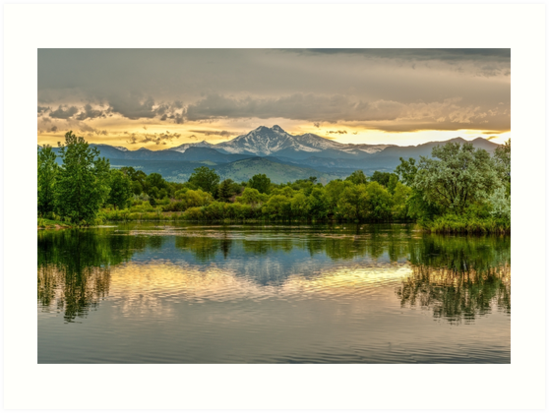 Golden Ponds Reflections - This Is A New Image by Gregory J Summers