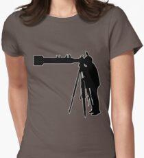 'Birdo'... No lens too long... Womens Fitted T-Shirt