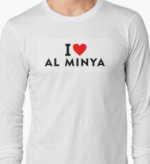 I love Al Minya city Long Sleeve T-Shirt