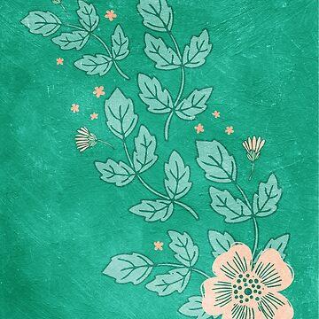 Flower in the Wind by JMHurd