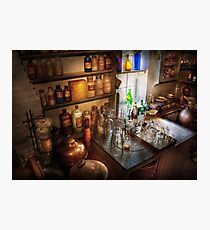 Pharmacist - A little bit of Witch Craft Photographic Print