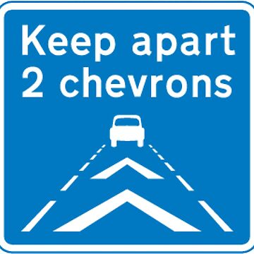 Keeping 2 chevrons apart  by BigRedDot