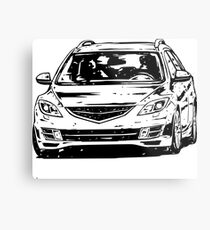 Mazda6 GH & quot; Dirty Style & quot; Metal Print