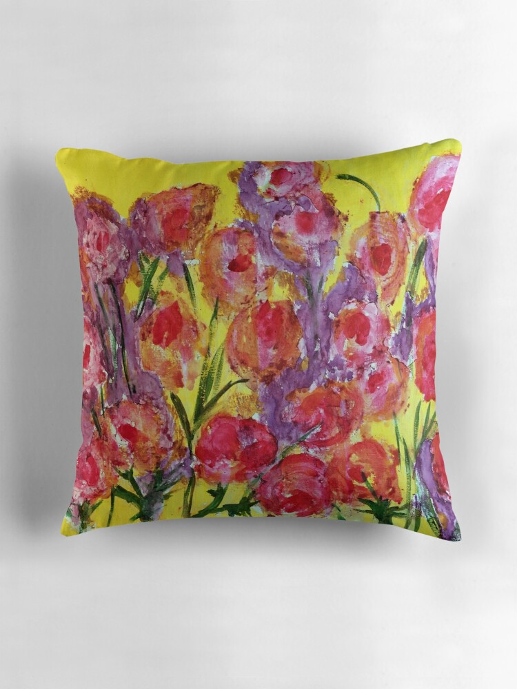 Big Yellow Decorative Pillows :