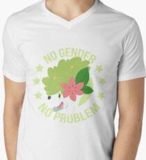 NO GENDER NO PROBLEM - Shaymin Land Form Men's V-Neck T-Shirt