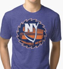 Deadly NY Hockey Tri-blend T-Shirt