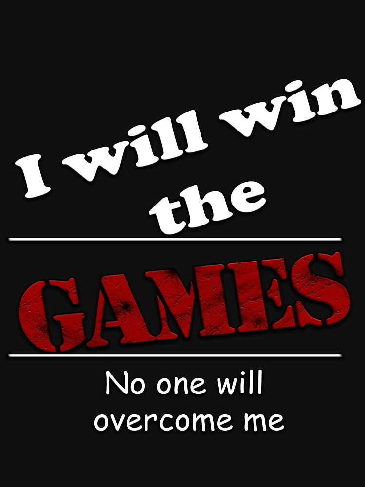 I will win the games  by almohawed