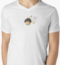 PikaTracer Men's V-Neck T-Shirt