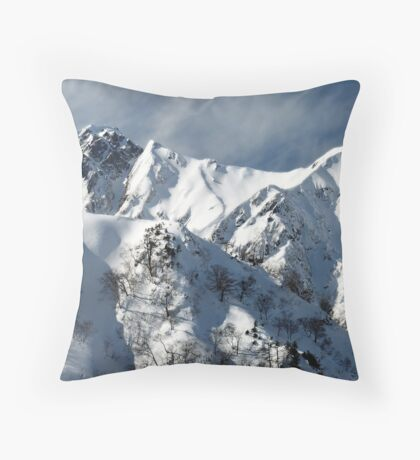 Hakuba Extreme Zone Throw Pillow