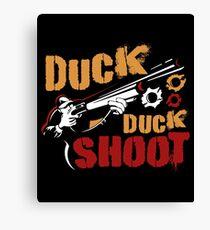 Hunting Duck Duck Shoot Canvas Print
