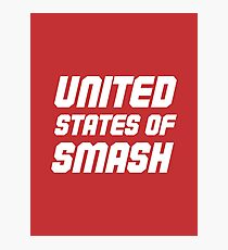 "My Hero Academia® - ""United States of Smash"" (All Might) Photographic Print"