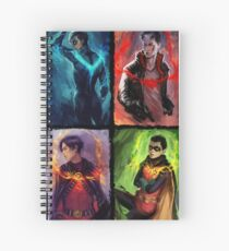 robins Spiral Notebook