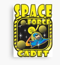 SPACE FORCE CADET Canvas Print