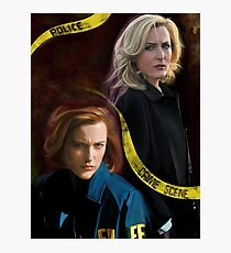 Stella x Scully Photographic Print