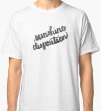 sunshine disposition - ink brush Classic T-Shirt