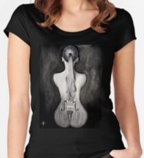 Douce musique Women's Fitted Scoop T-Shirt