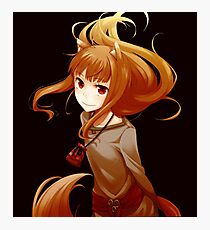 Horo - Spice and Wolf Photographic Print