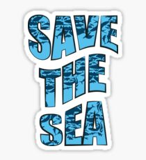 Save the sea Sticker