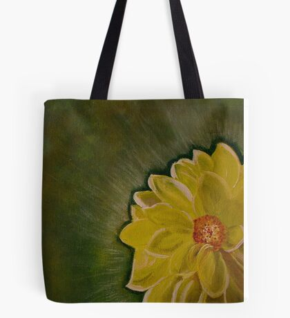 A Yellow Beauty Tote Bag