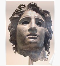 Alexander the Great Statue Poster
