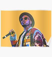 Anderson .paak Poster Poster