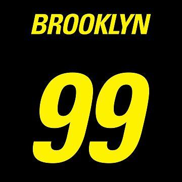 Brooklyn 99 by juliatleao