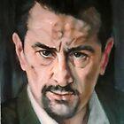 portrait of Robert De Niro by Hidemi Tada