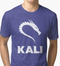 Kali Linux Cyber Security Hacking Fun T-shirt Tri-blend T-Shirt