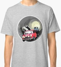 The Italian job minis escaping in the sewer Classic T-Shirt
