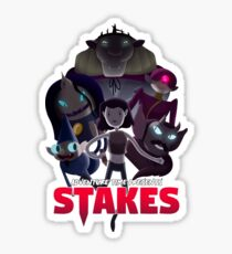 Stakes - Adventure Time Sticker