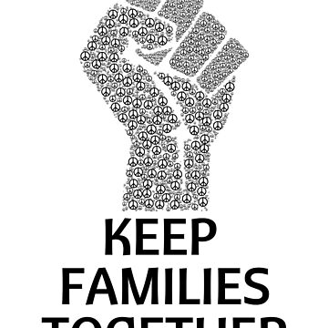Families Belong Together Sticker Keep Families Together by nfarishta