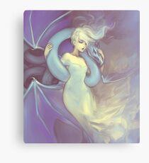 Dragon Lady Metal Print