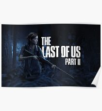 """The Last Of Us Part 2 """"Night Hunting"""" Poster"""