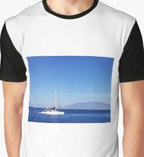 Sunshine Sailboat Graphic T-Shirt