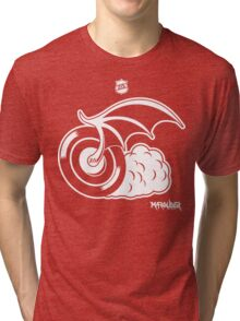 Blood Red Wings Hockey Tri-blend T-Shirt
