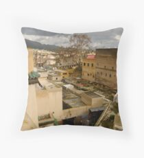 Fez Street Throw Pillow